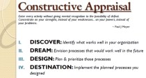 Constructive Appraisal image