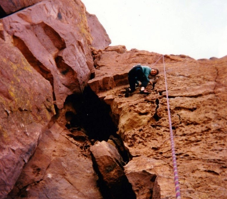 Hanging On To Hope Without Handholds