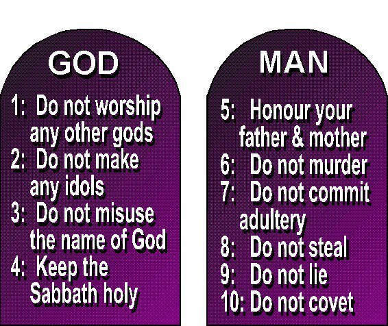 Image result for ten commandments pictures