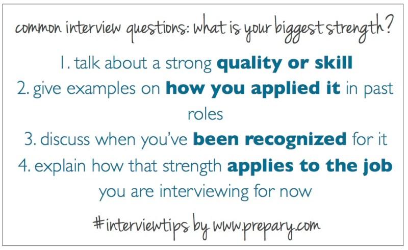 strengths interview