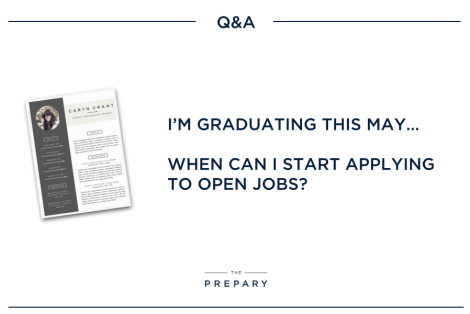 May Graduates: When to start applying for jobs - The Prepary : The ...