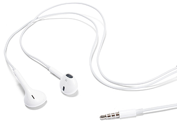 Genuine Apple Earphones With Remote, Mic Volume Controls