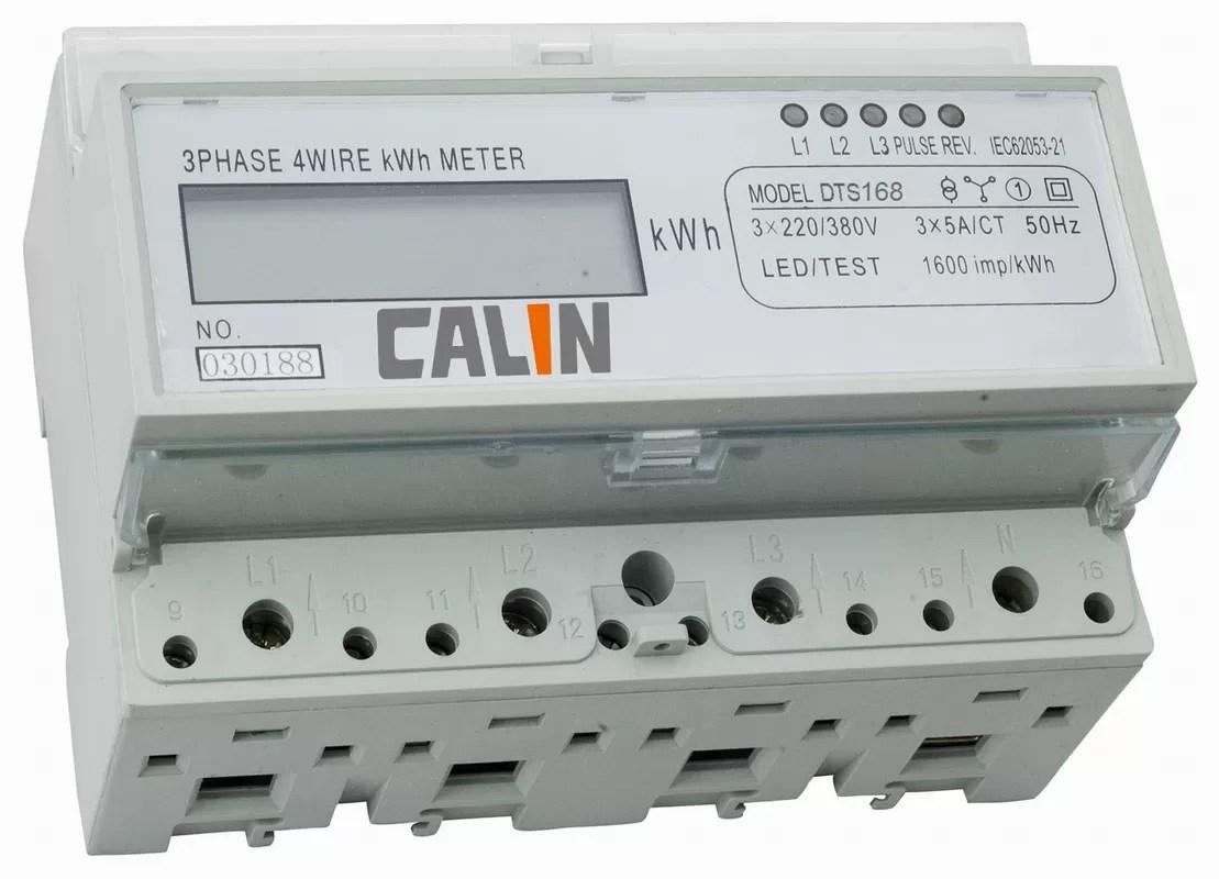 watt hour meter wiring diagram hella 500 four wire three phase kilowatt rtu protocol