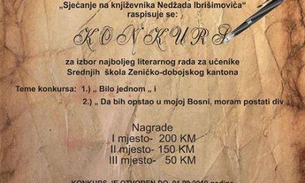 """""""Sjećanje na književnika Nedžada Ibrišimovića"""""""