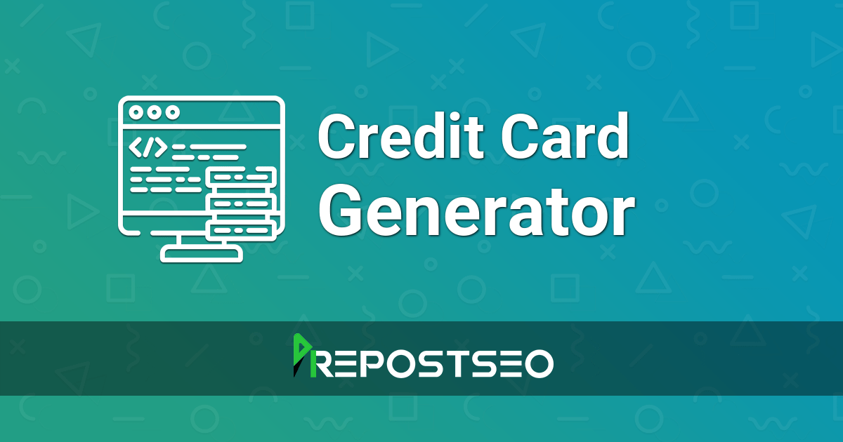 The result of an application is mostly based on your credit score, although other factors are. Credit Card Generator Fake Credit Card Number Generator