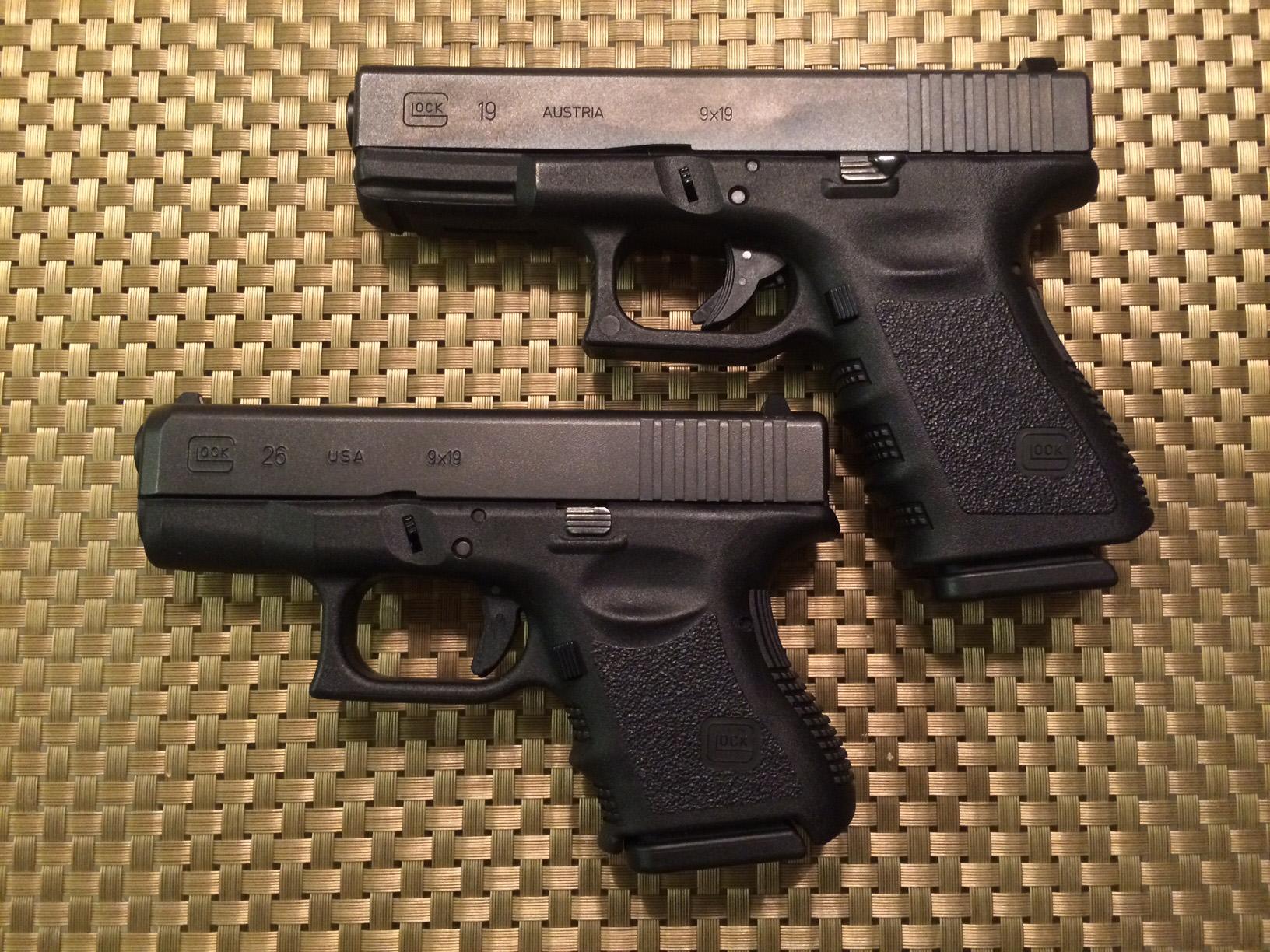 glock compact vs sub
