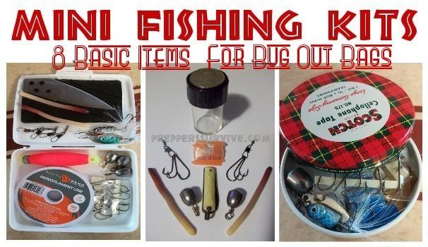 Survival Fishing Mini-kit