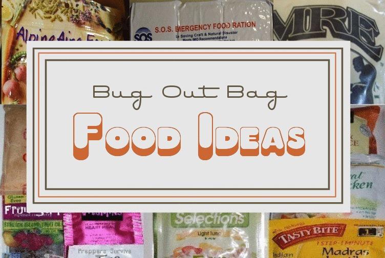 Bug Out Bag Food Ideas Preppers Survive