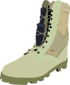 Where to Hide Blades - Shoelace Sheath - 6 Common Places to Conceal Knives - concealed blade