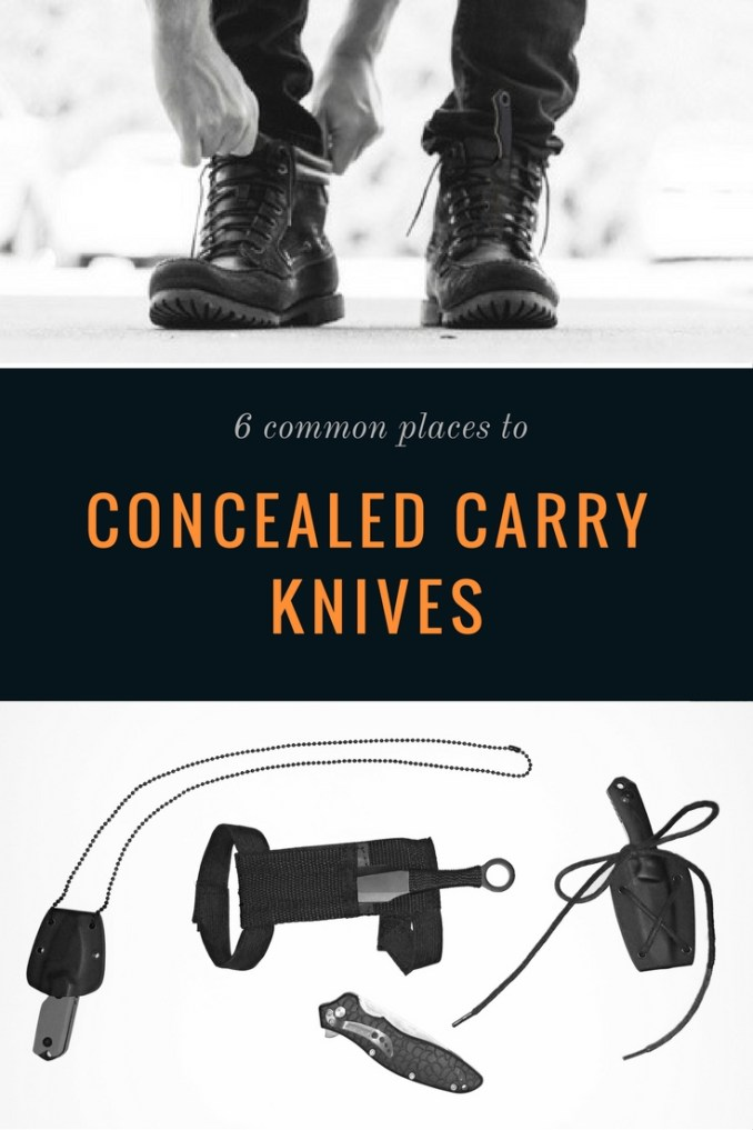 Where to Hide Blades - Shoulder Sheath - 6 Common Places to Conceal a Knife - concealed blade