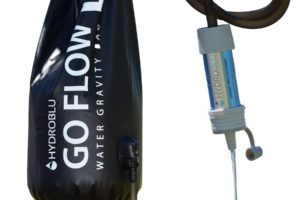 Water filter gravity bag hydroblu