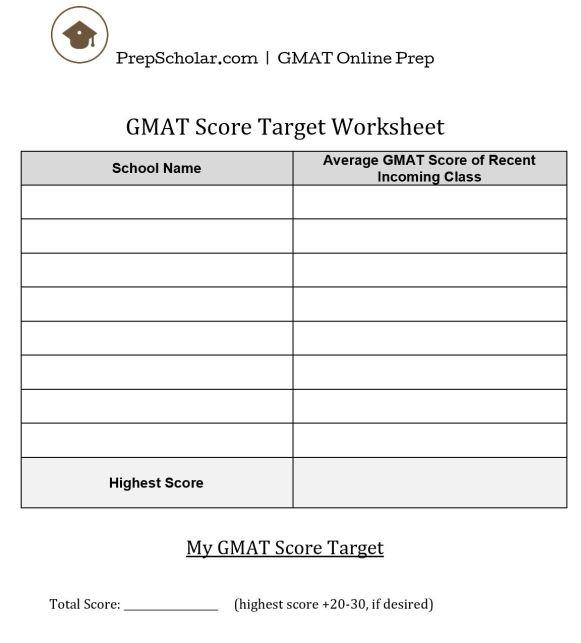 target worksheet