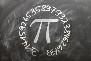 Pi is an example of a recurring decimal, as it has no end.