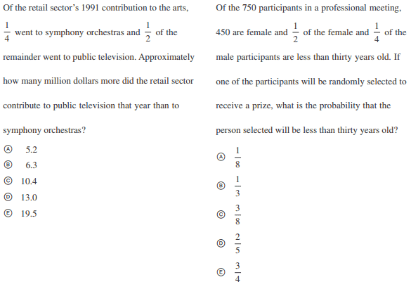 Math Proportions 3 4