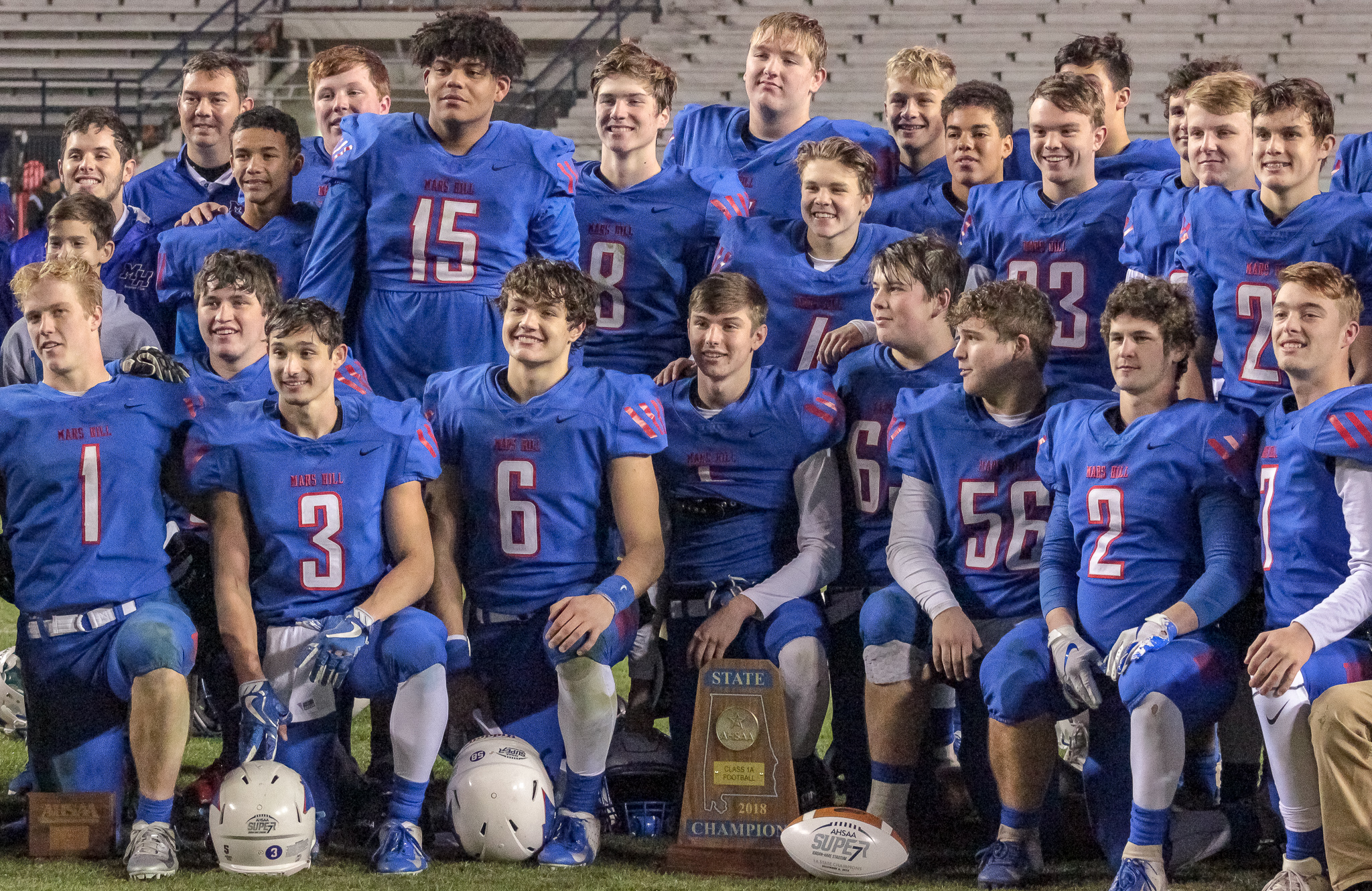 Mars Hill Bible knocks off Linden to take 1A state title   PrepsNet