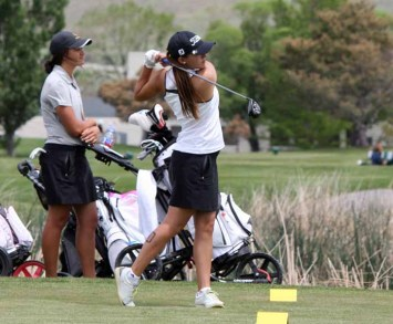 Junior Jessica Sloot and Davis won their second straight 5A girls golf state title in 2015. (Photo by Kurt Johnson)