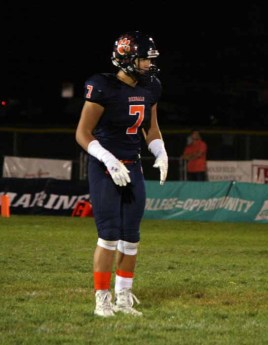 Kahi Neves is now at Timpview seeking a shot to show what he can do as a quarterback. (Photo by Kurt Johnson)