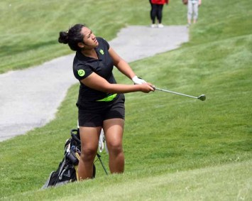 Provo sophomore Naomi Soifua dominated 4A girls golf for the second straight year. (Photo by Kurt Johnson)