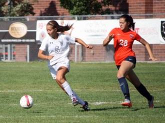 Alta sophomore striker Valeria Cazedessus. (Photo by Kurt Johnson)