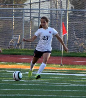 Timpview defender Kelsey Salveson is one of the anchors on the back line. (Photo by Kurt Johnson)