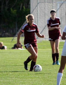Lily Franks is a senior defender for one of the state's best soccer programs at Lone Peak. (Photo by Kurt Johnson)