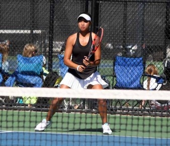 Lone Peak's Leah Heimuli will take her tennis to the next level. (Photo by Kurt Johnson)