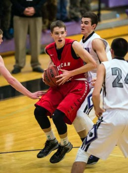 American Fork relies on point guard Spencer Johnson. (Photo by Dave Argyle, dbaphotography.com)
