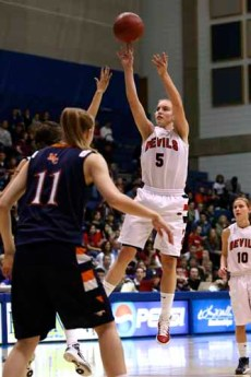 Lexi Eaton hopes her next stop is the WNBA. (Photo by Shane Marshall)
