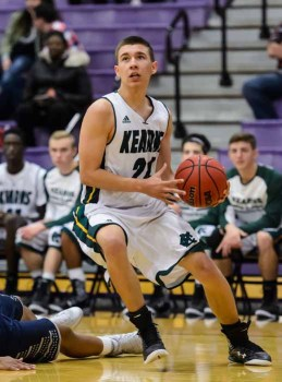 Nick Valles was a key component in a Kearns comeback that fell just short. (Photo by Dave Argyle, dbaphotography.com)