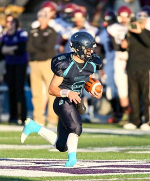 Juan Diego junior running back Ryan Baker. (Photo by Kevin McInnis)