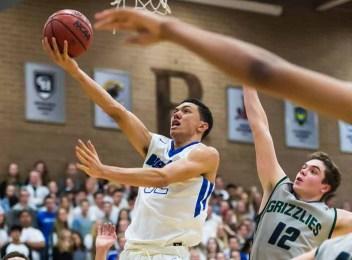 Bingham's Samuta Avea is a talented junior wing player. (Photo by Dave Argyle, dbaphotography.com)