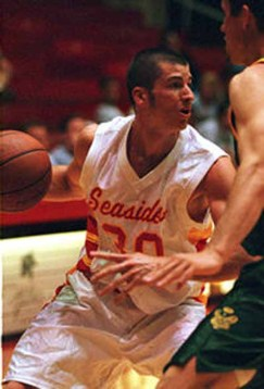 Evans played collegiately at BYU-Hawaii and professionally overseas. (Photo courtesy BYU-Hawaii Athletics)