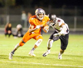 Year 1 at Skyridge High featured big offensive numbers from Wyatt Parkinson. (Photo by Kevin McInnis)