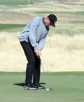 Junior Max Brenchley will be one of the Lone Peak golfers returning next year to go for title No. 5. (Photo by Kurt Johnson)