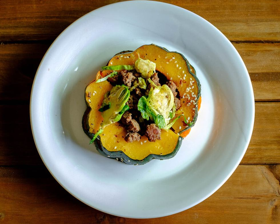 turkey acorn squash
