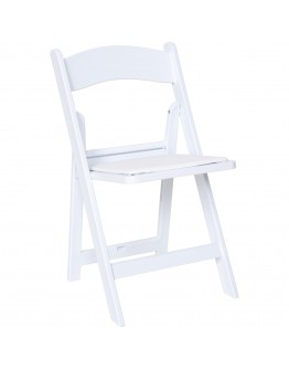 resin folding chairs for sale chair cover hire burton on trent white
