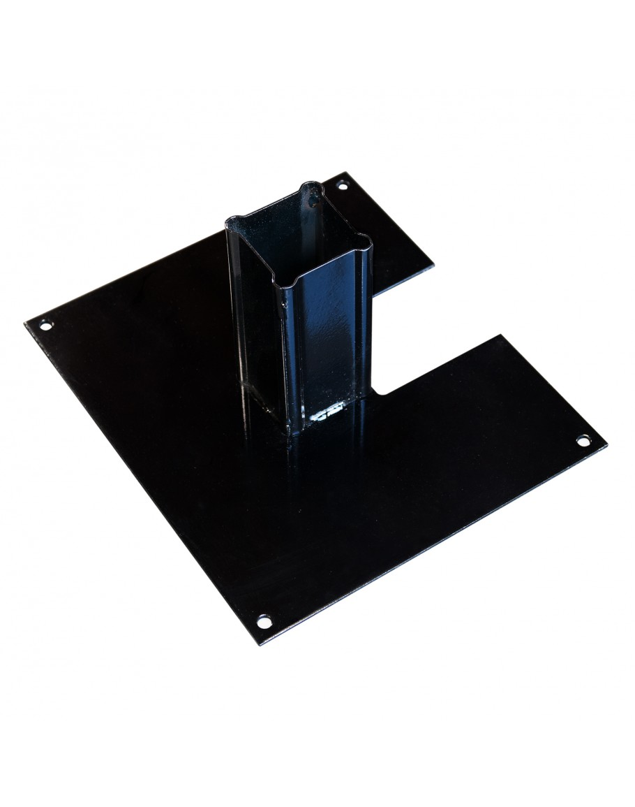 Rhino Portable Vinyl Picket Fence Base Black for Sale