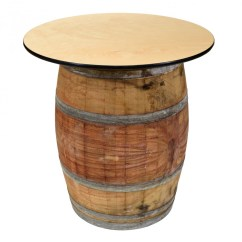 Folding Chair Dolly Office Cost 36 Inch Wine Barrel Cocktail Table