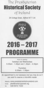 PHSI Programme 2016-17