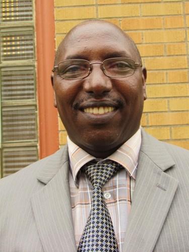 """Rev. Gisonga """"Aaron"""" Ruvugwa, pastor of Agape African Fellowship. (Photo by Betsy Garrett)"""