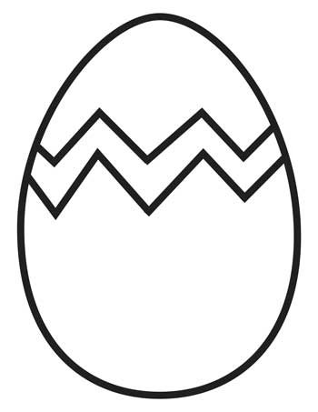 Easter Colouring Pages for Preschoolers