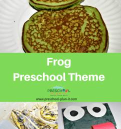 Frog Theme for Preschool [ 1102 x 735 Pixel ]