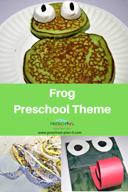small resolution of Frog Theme for Preschool