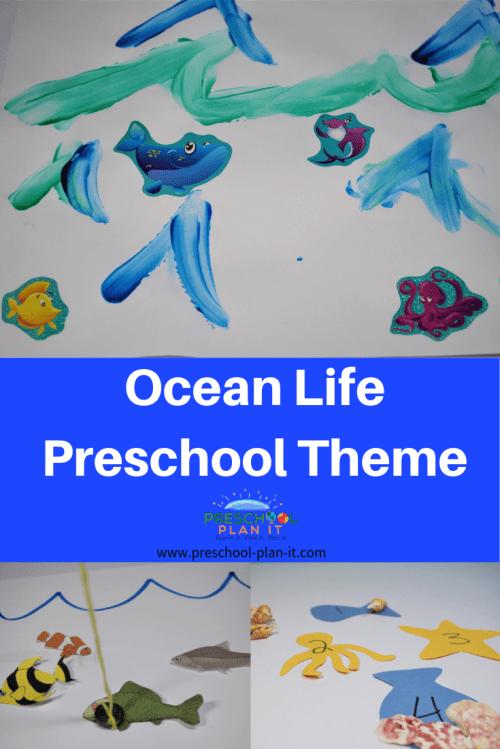 small resolution of Ocean Life Theme for Preschool