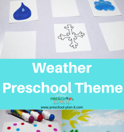 Weather Theme for Preschool [ 1102 x 735 Pixel ]