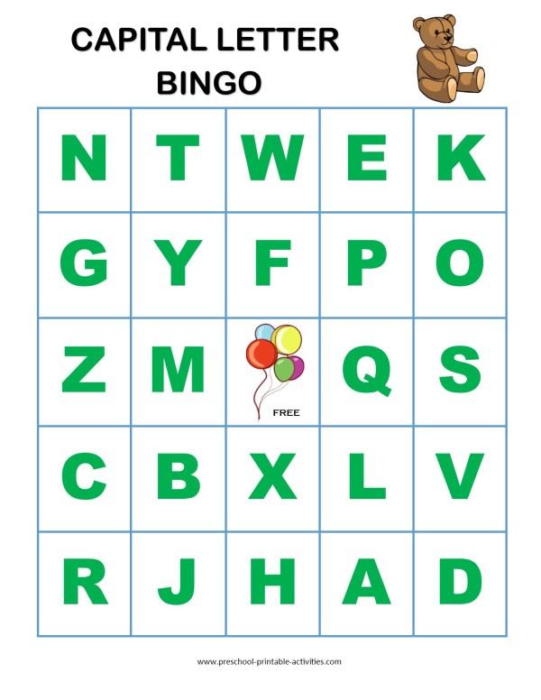 20 Printable Abc Bingo Master Sheet Pictures And Ideas On Meta Networks