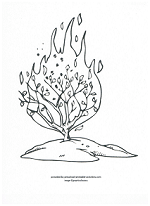 Free Bible Coloring Pages
