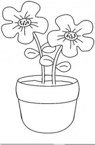 Flower Coloring Pages Crafts And Worksheets For
