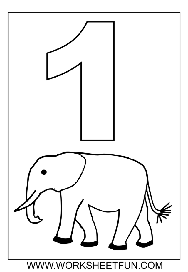 Number 26 ( one ) tracing and coloring worksheets  Crafts and
