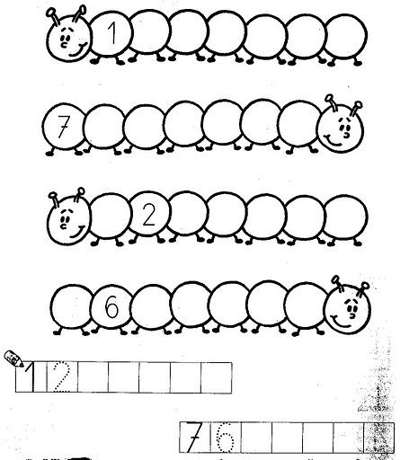 Kindergarten Worksheets Circle All The Sevens
